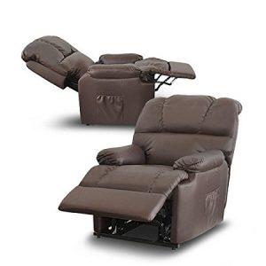 deluxe - sillón relax masaje elevador levantapersonas eléctrico calor lumbar